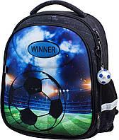 Школьный рюкзак (ранец) с ортопедической спинкой для мальчика Winner one 38х28х14 см для начальной школы (6006)