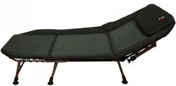 Раскладушка-кровать карповая для рыбалки и отдыха Elektrostatyk L12