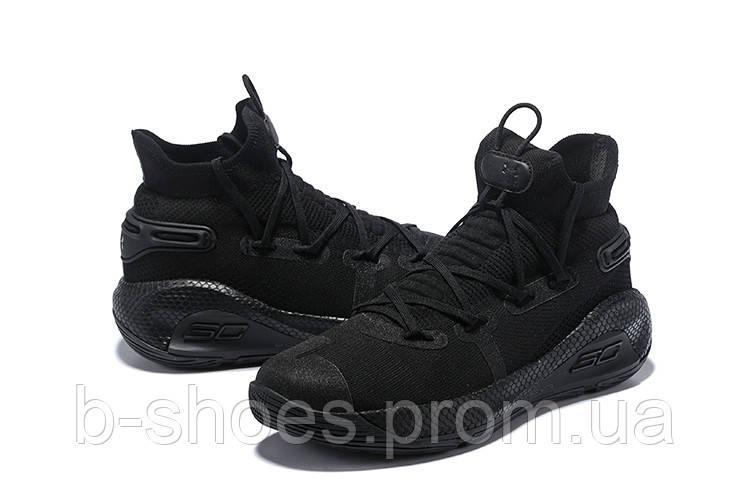 Мужские Баскетбольные кроссовки  Under Armour Curry 6(Black)