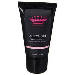 Acryl gel (поли гель)  Master Professional , 60 мл  (Yellowish pink)