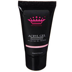 Acryl gel (поли гель)  Master Professional , 60 мл  (Pink)