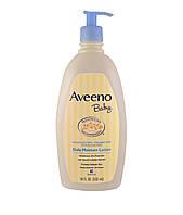 Aveeno Baby увлажняющий лосьон,без запаха, 532 мл