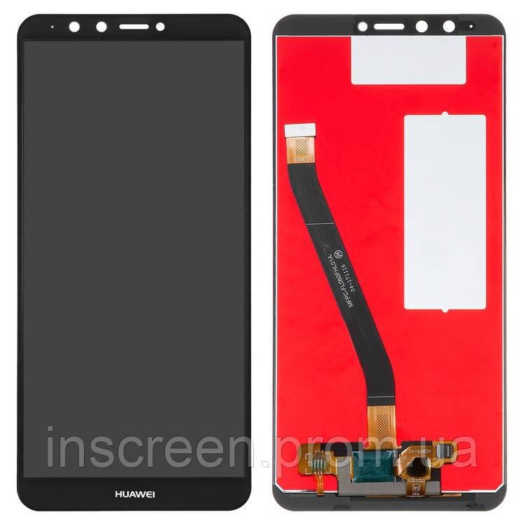 Дисплей Huawei Y9 2018 (FLA-LX1, FLA-LX3), Enjoy 8 Plus з сенсором (тачскрін) чорний, фото 2