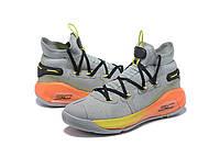 Мужские Баскетбольные кроссовки  Under Armour Curry 6(Grey), фото 1