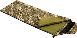 """Спальный мешок - одеяло """"AVERAGE"""" камуфлированный, Украина"""