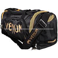Сумка Venum Trainer Lite Sport Bag Black Gold