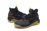 Мужские Баскетбольные кроссовки  Under Armour Curry 6(Black/orange), фото 1