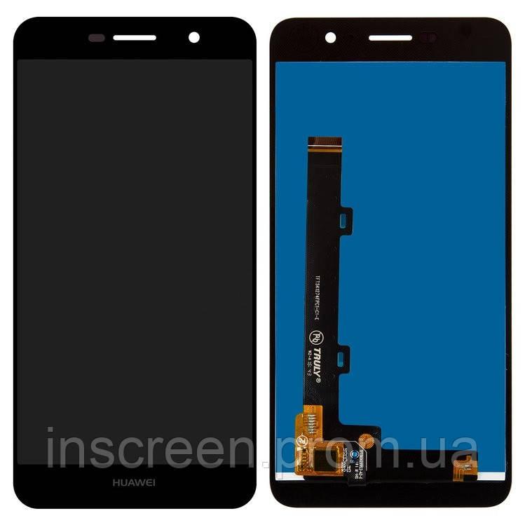 Экран (дисплей) Huawei Y6 Pro TIT-U02, TIT-AL00, Enjoy 5, Honor Play 5X с тачскрином (сенсором) и рамкой