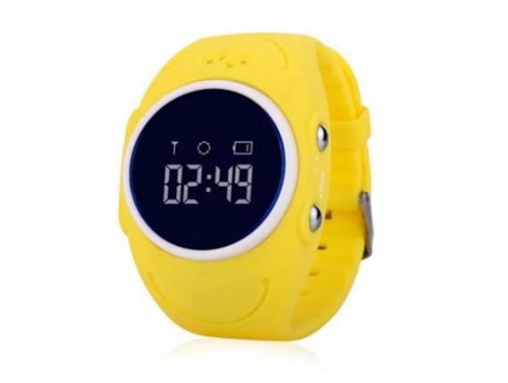 Детские умные GPS-часы Wonlex Smart Baby Watch GW300s желтые Защита от воды IP67