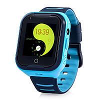 Детские умные GPS-часы Wonlex Smart Baby Watch KT11 синие