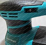 Орбітальна шліфмашина Grand ОШМ-550 (пилозбірник), фото 7