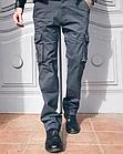 Джинсы мужские ITENO (Tophero) оригинал р.36 прямые серые весна/осень (есть другие цвета), фото 5