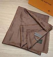 Платок Louis Vuitton молочный шоколад