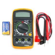 Мультиметр цифровой FK830L | XL830L | MAS830L с подсветкой (ток до 10A)