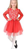 Яркое детское красивое платье