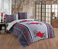 Махровое постельное бельё – Сердце