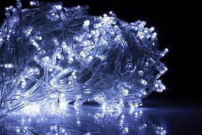 Xmas Нить 200 LED БЕЛЫЙ (прозрачный провод,15 метров), фото 2