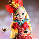 Кукла Ever After High Эппл Уайт (Apple White) из серии Way Too Wonderland Школа Долго и Счастливо, фото 8