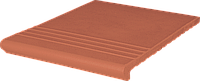 Клинкерная ступень King Klinker (01)  Венецианская гладкая/рифленая 330х330х14, фото 1