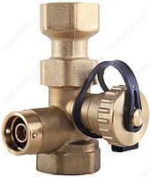 """Клапан Afriso с краном KFE 3/4"""" х 3/4"""", 10 бар, 120°C для подключения расширительного бака (Афризо 77949)"""