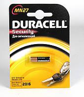 Батарейка DURACELL MN27 / 1BL (для брелка сигнализаций)