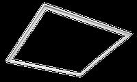 Панель LED ART DESIGN 40W 6000K (587x587x13.5мм) (світлодіодна рамка) (видаємо по 2ШТ) TM LUMANO