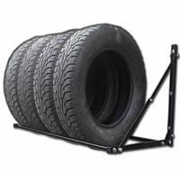 Полка для хранения сменных колес настенная, Складная раздвижная, глуб 60 см