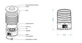 Електросушка ЕСП - 02 Е (ProfitM) 20л слонова