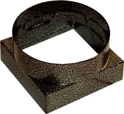 Перехідник (ProfitM) 90*90ø100   коричневий