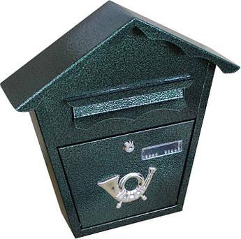 Поштова скриня (ProfitM) СП-1 зелений ант