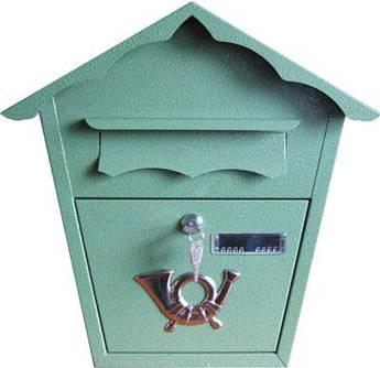 Поштова скриня (ProfitM) СП-1 молоткова зелена