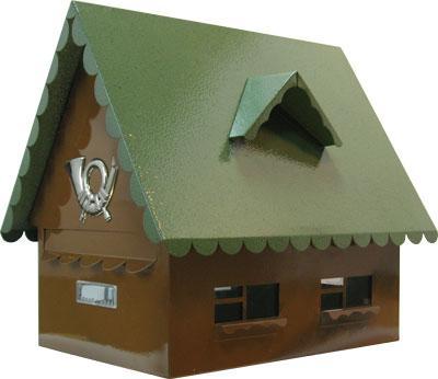 Поштова скриня (ProfitM)  СП-6  молоткова зелена