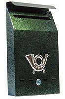 Поштова скриня (ProfitM)  СП-7  молоткова зелена, фото 1