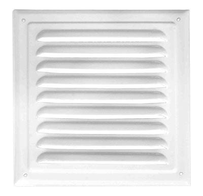 Решітка вентиляційна без сітки (ProfitM) 200х200  біла