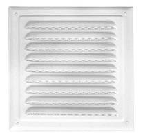 Решітка вентиляційна з сіткою (ProfitM) 150х150  біла
