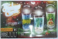 """Набор креативного детского творчества """"Гелевые свечи"""" своими руками, 3 подсвечника, фото 1"""