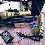 Комплект беспроводных микрофонов SHURE Радиосистема DM SH-300G состоит из базы и 2 микрофонов, фото 6
