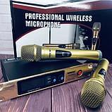 Комплект беспроводных микрофонов SHURE Радиосистема DM SH-300G состоит из базы и 2 микрофонов, фото 7
