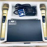 Комплект беспроводных микрофонов SHURE Радиосистема DM SH-300G состоит из базы и 2 микрофонов, фото 8