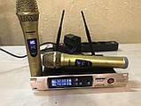 Комплект беспроводных микрофонов SHURE Радиосистема DM SH-300G состоит из базы и 2 микрофонов, фото 5