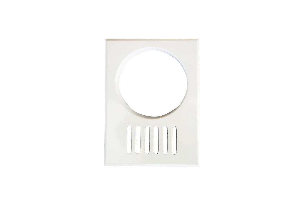 Решітка декоративна (ProfitM) 170х230-ø120    біла ант