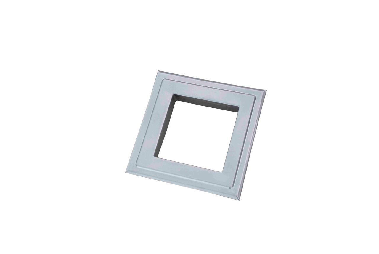 Розета квадратна (ProfitM)  90х90  біла ант