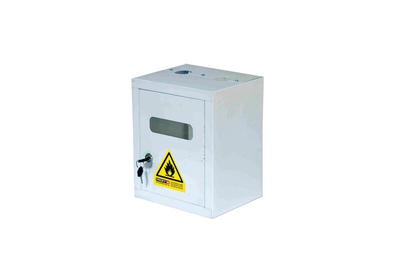 Ящик газовий(ProfitM) ГЛ4 білий 275х255х185