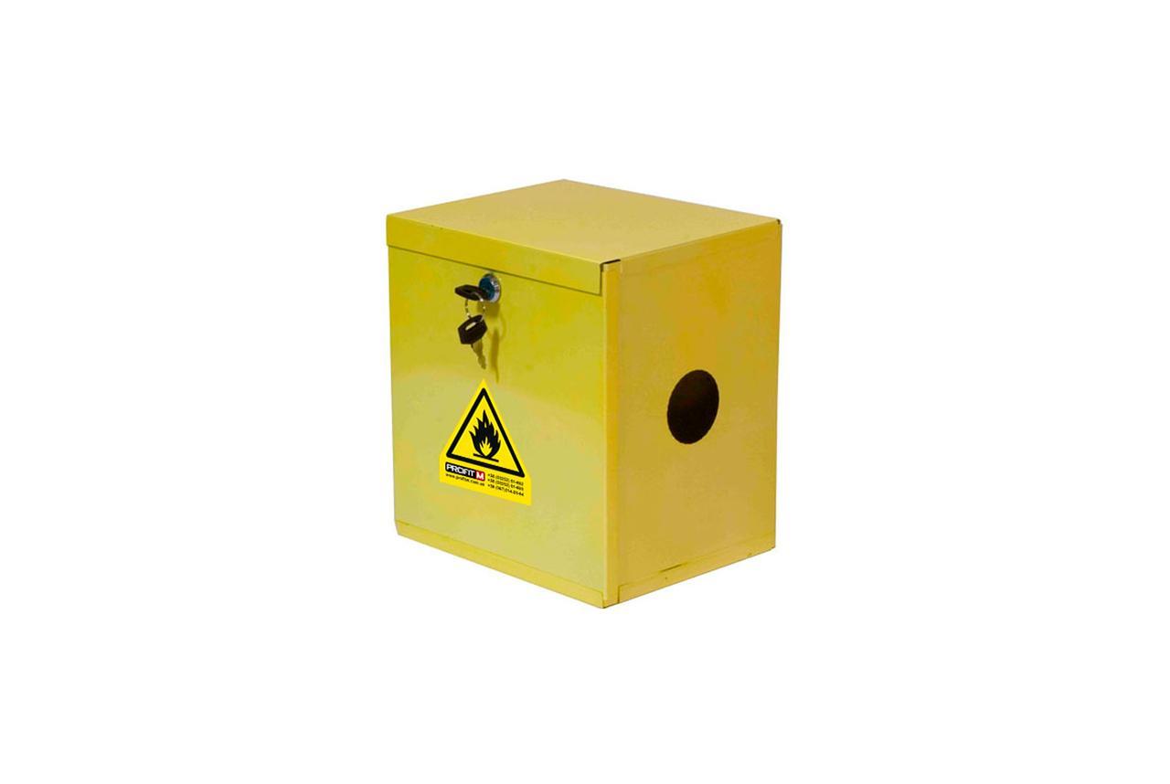 Ящик газовий(ProfitM) ГР жовтий 255х230х190