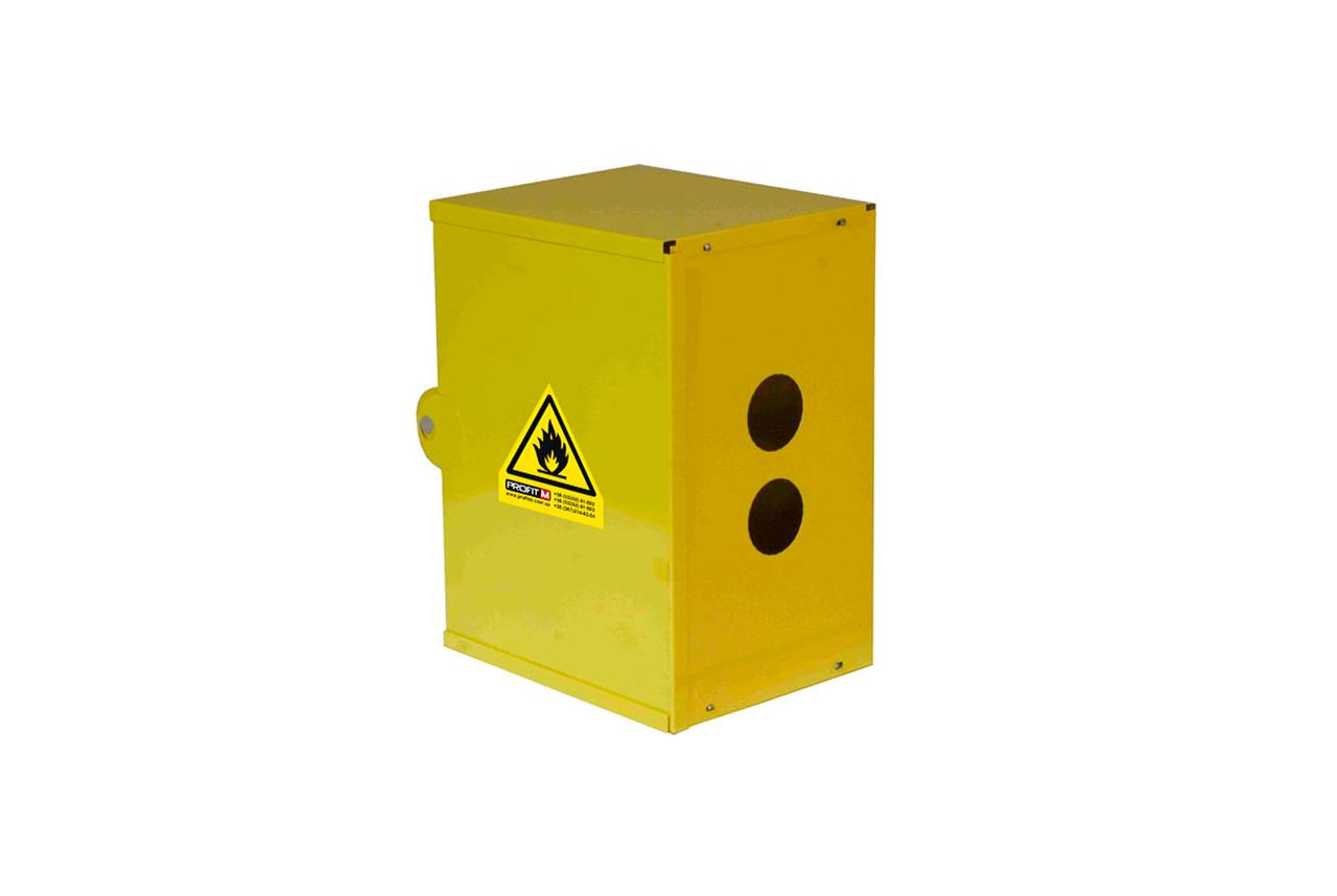 Ящик газовий(ProfitM) ГРК (конст) жовтий 310х230х190