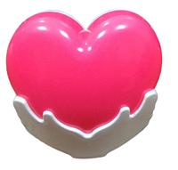 Нічник дитячий LED Серце в долонях 1,0W LU-ND-0003-25 (240шт/ящ) R