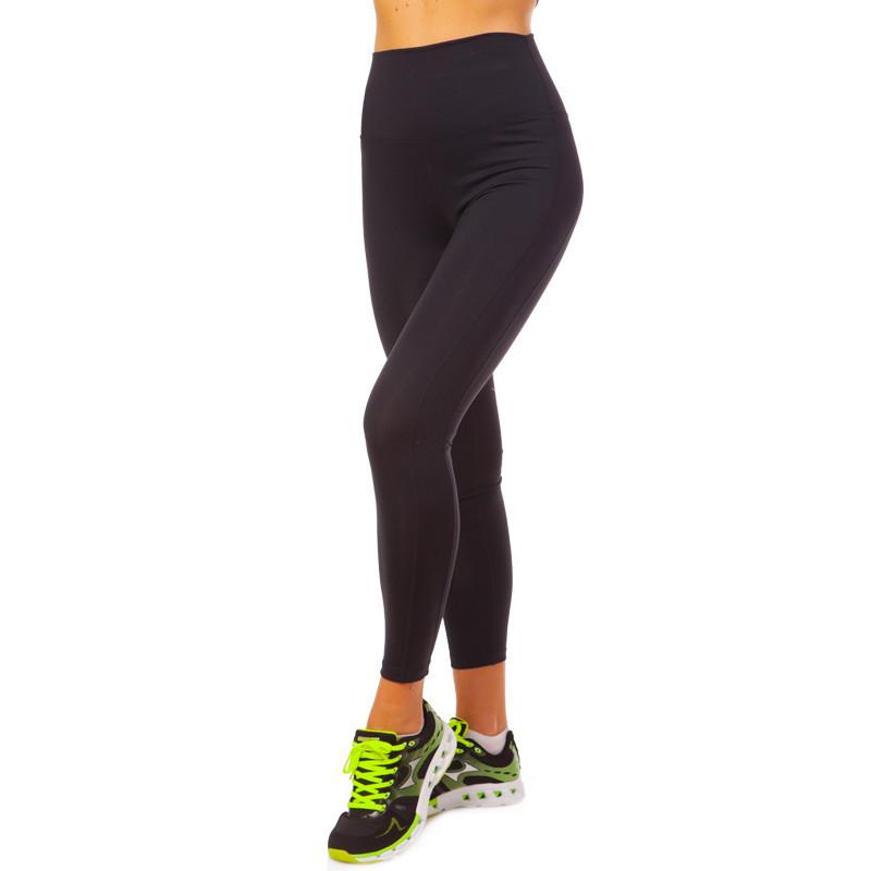 Лосины для фитнеса и йоги VSX CK5526-N размер S-L-42-48 черный