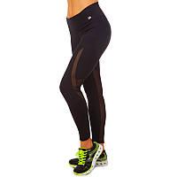 Лосины для фитнеса и йоги VSX CK5527-BK размер S-L-42-48 черный