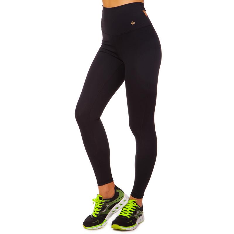 Лосины для фитнеса и йоги VSX CK5532-BK размер S-L-42-48 черный