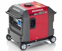 Бензиновый инверторный генератор Honda (Хонда) EU30IS